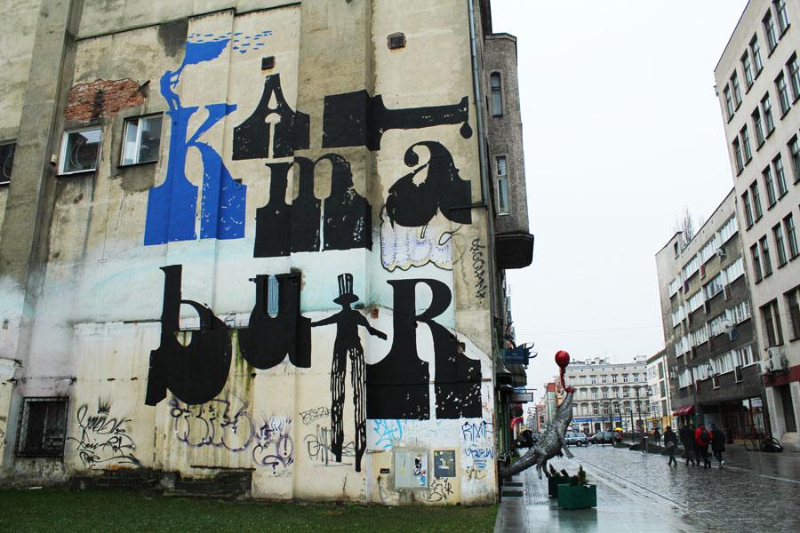 Streetart in Wroclaw
