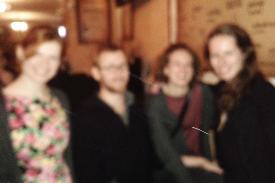 A bunch of friends in Krakow