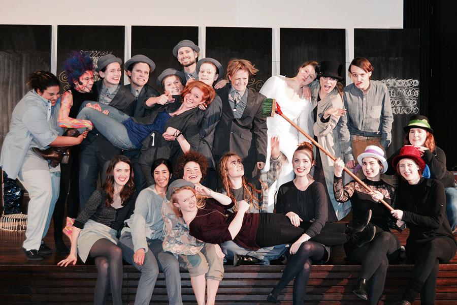 Das Momo Ensemble der Universität Hamburg.