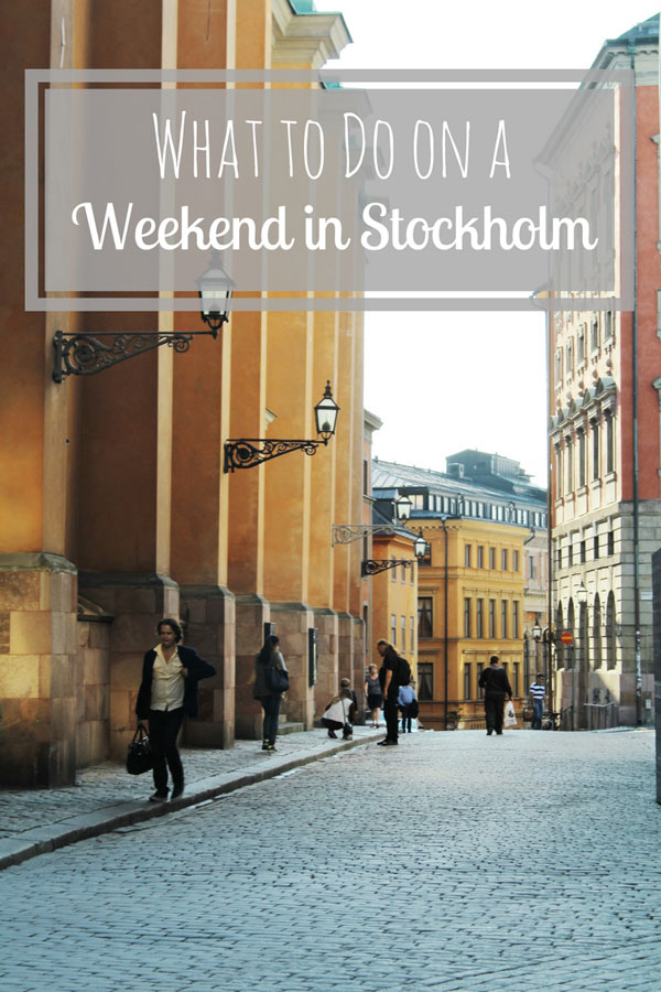 What to do on a weekend in Stockholm - discover heaps of fun tips for things to know, adventures to do, places to stay and bars to party!