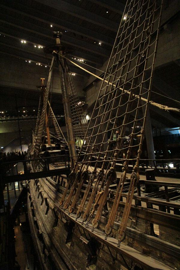 Vasa museum in Stockholm.