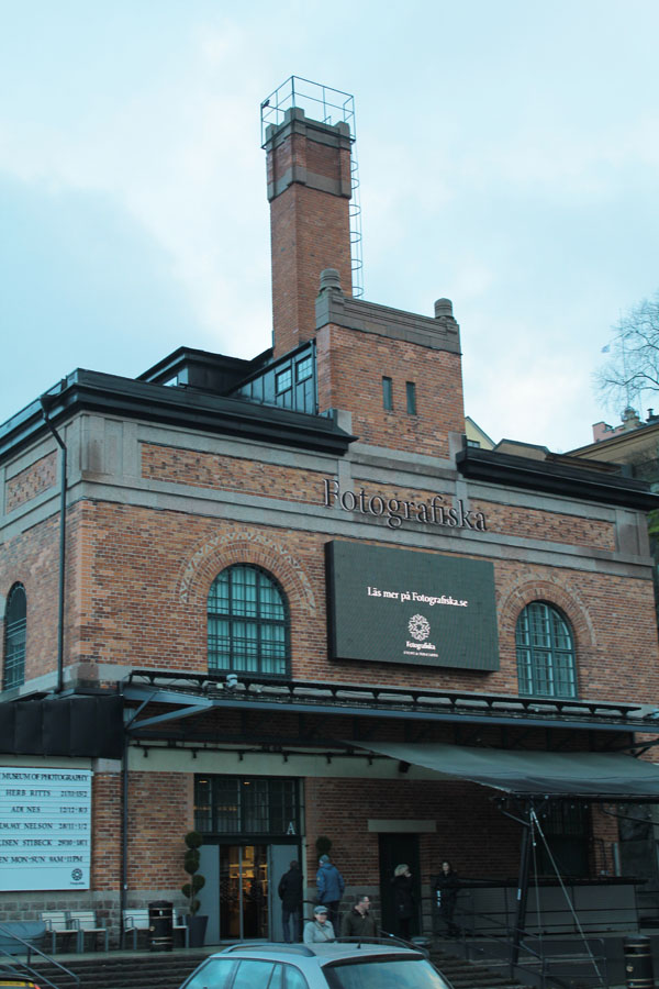 Stockholm's photography Museum.