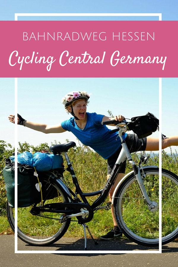 BahnRadweg Hessen - Cycling Central Germany