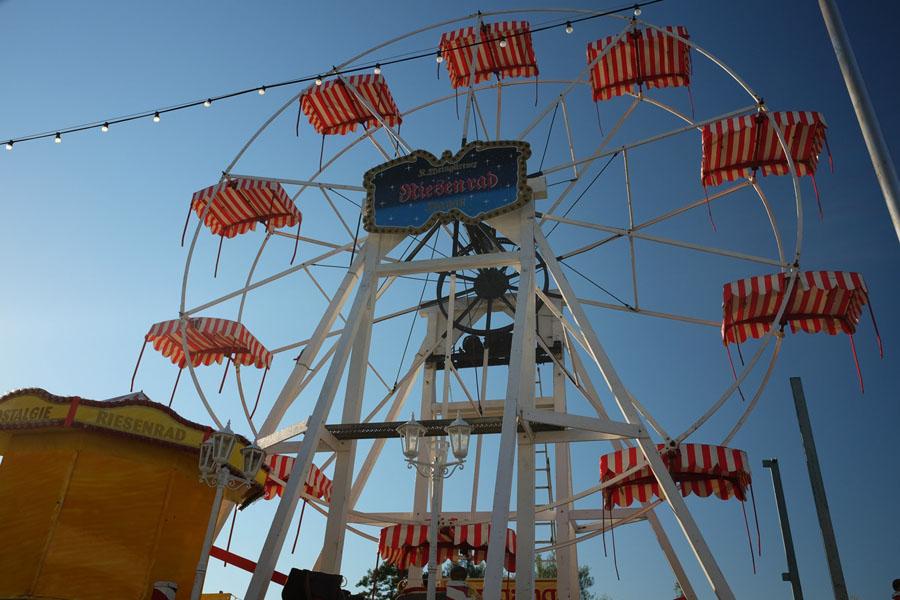 Fun Fair vibes along the BahnRadweg Hessen