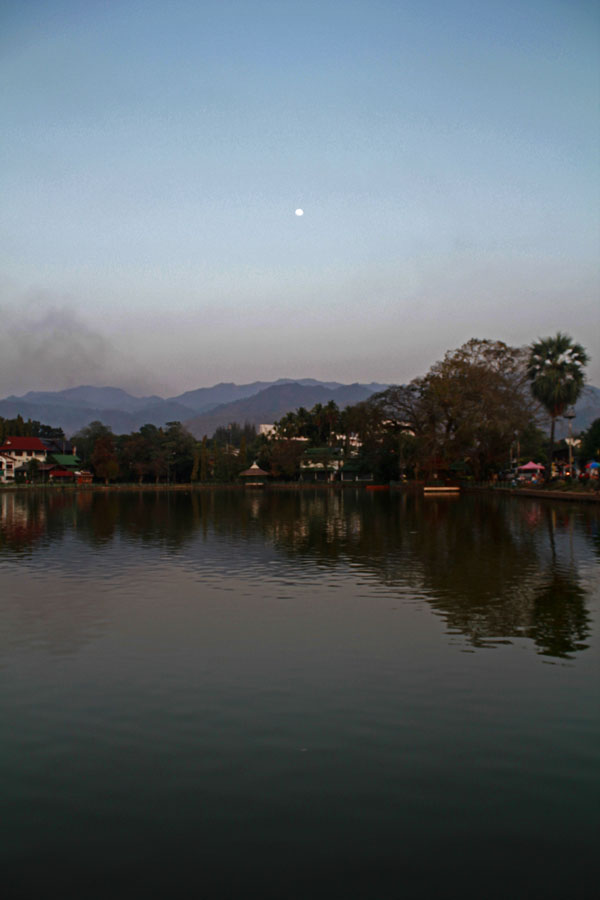 The lake in Mae Hong Son.