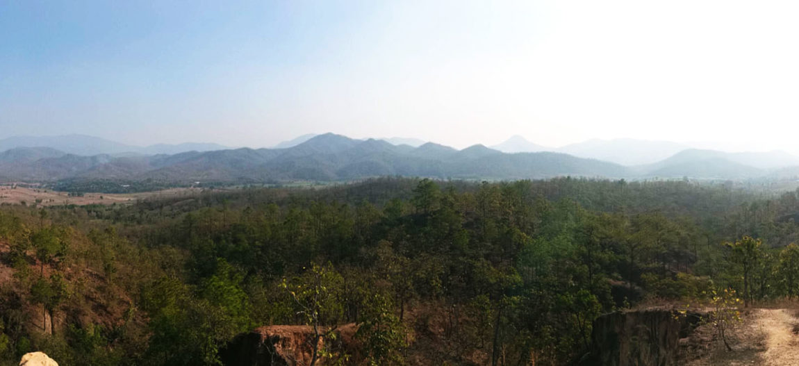 Traveling along the Mae Hong Son Loop