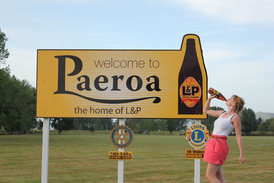 Welcome to Paeroa, New Zealand.