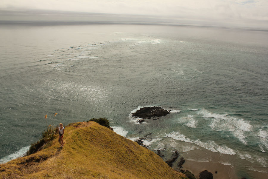 View over Cape Reinga, New Zealand.