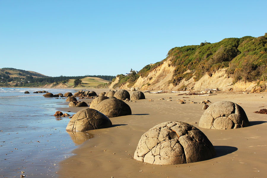New Zealand's Moeraki Boulders