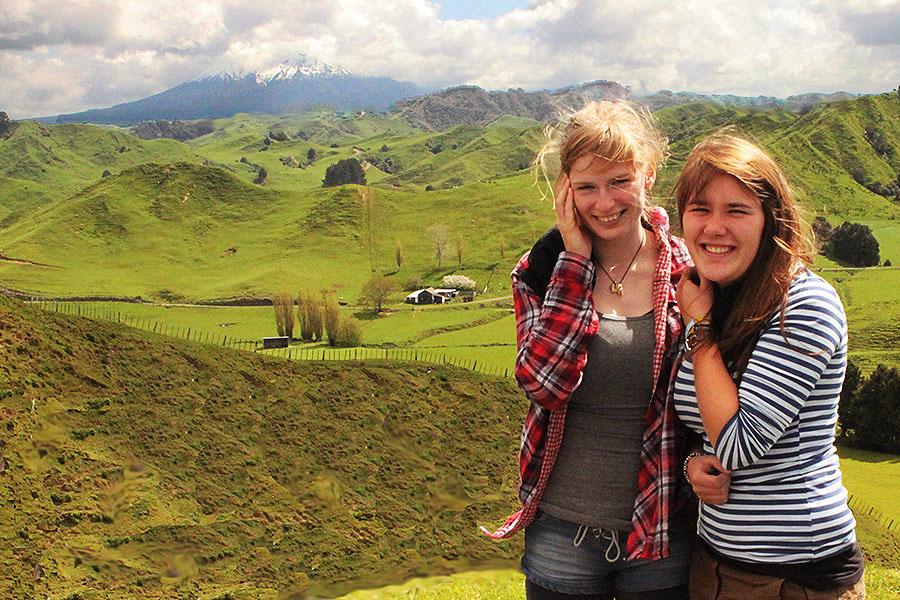 Forgotten World Highway in New Zealand
