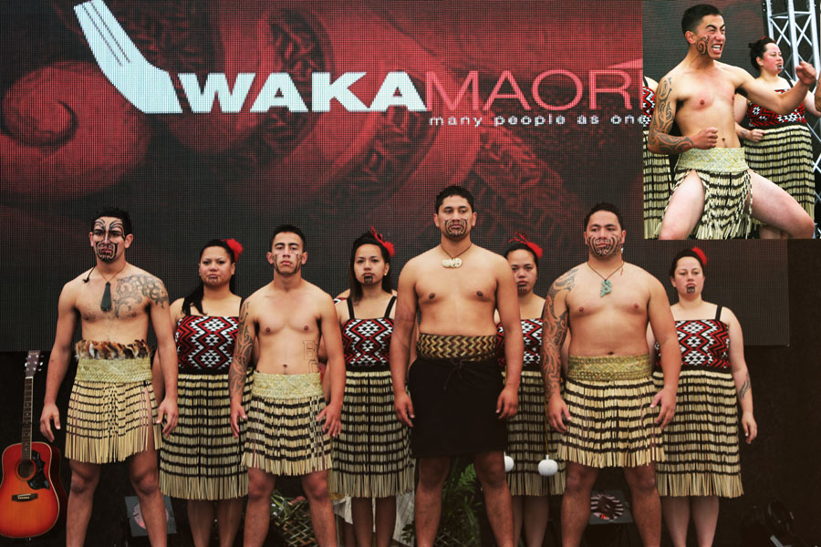 Traditional Haka, New Zealand