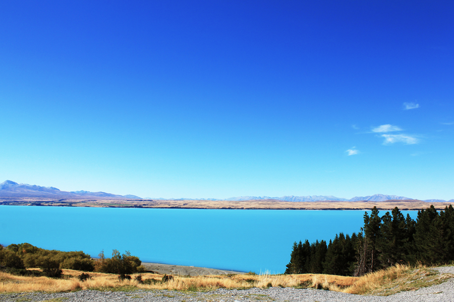 Lake Pukaki in New Zealand