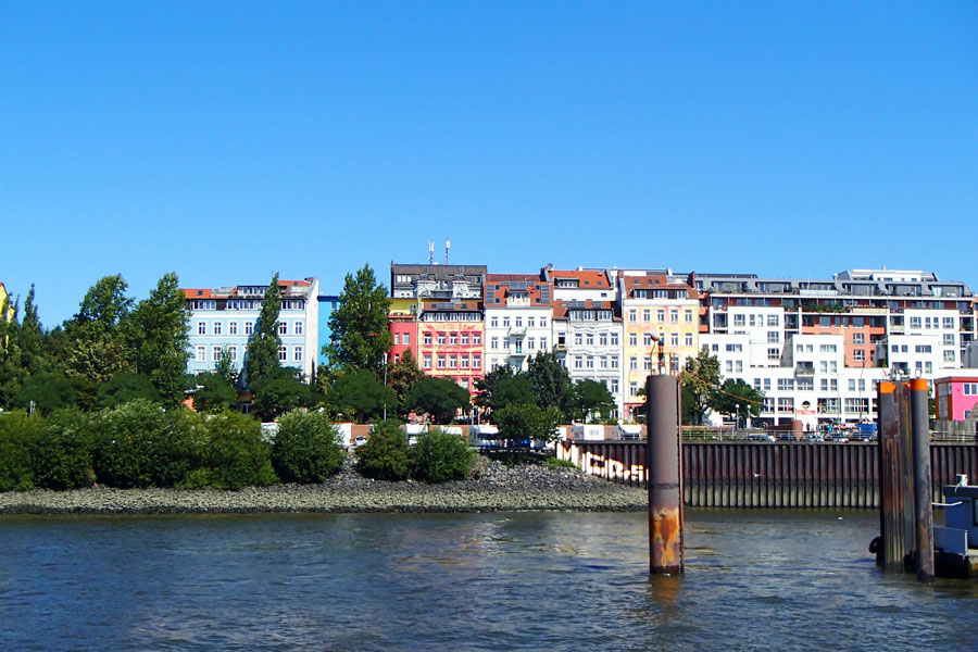 Germany's most beautiful city from river view