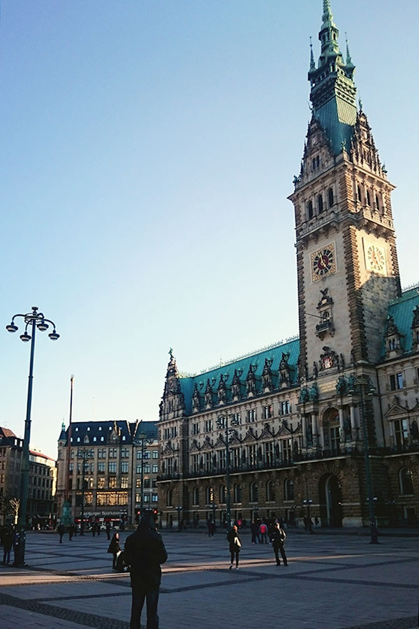 The iconic townhall of Hamburg is one reason to make it Germany's best city.