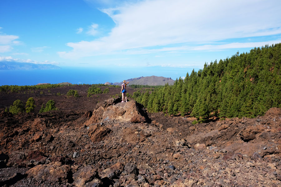 View from Mount Teide