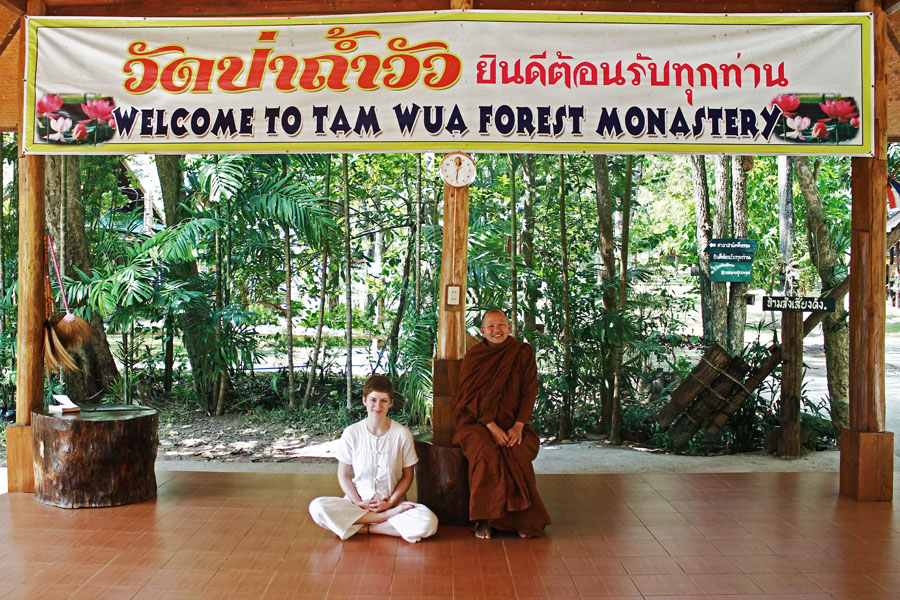 Long-term travel brought me to live in this monastery in Northern Thailand for a while.