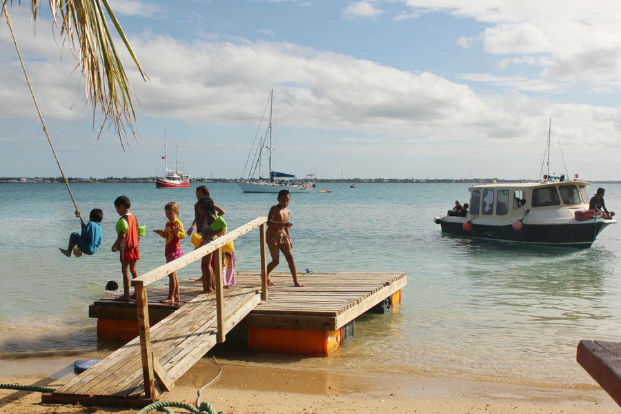 Pangaimotu Island, Tonga