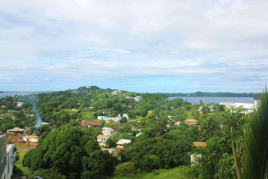 View over Neiafu on Vava'u, Tonga.