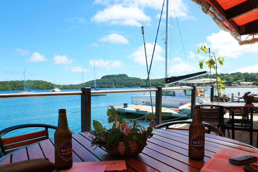 Overlooking the bays of Vava'u, Tonga.