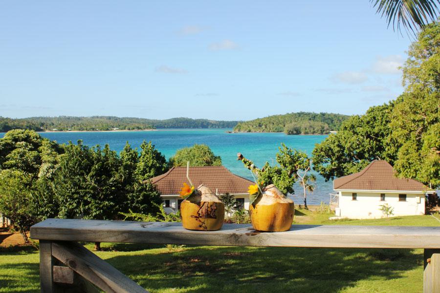 Enjoying the Reef Resort of Vava'u, Tonga.