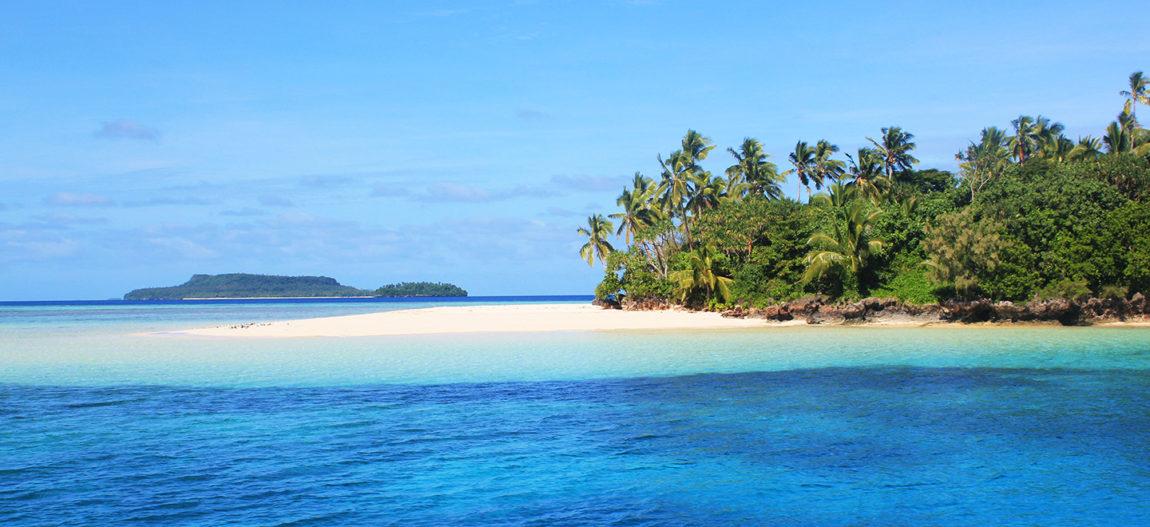 Visit the serene beaches of Vava'u, Tonga.