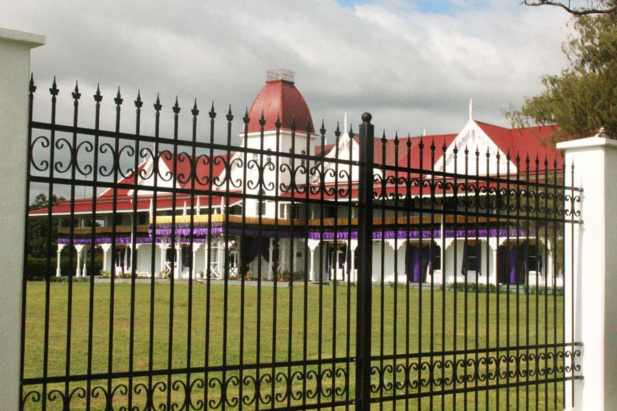 The Royal Palace of Tonga.