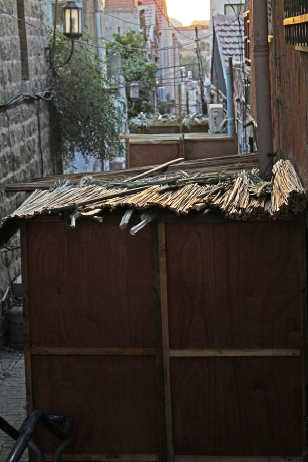 A sukka in Jerusalem