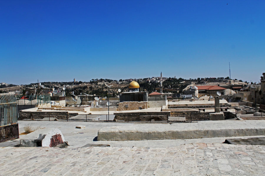 Rooftops of Jerusalem