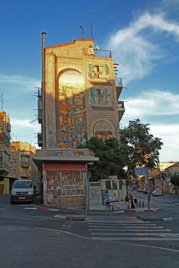 Street art in Jerusalem