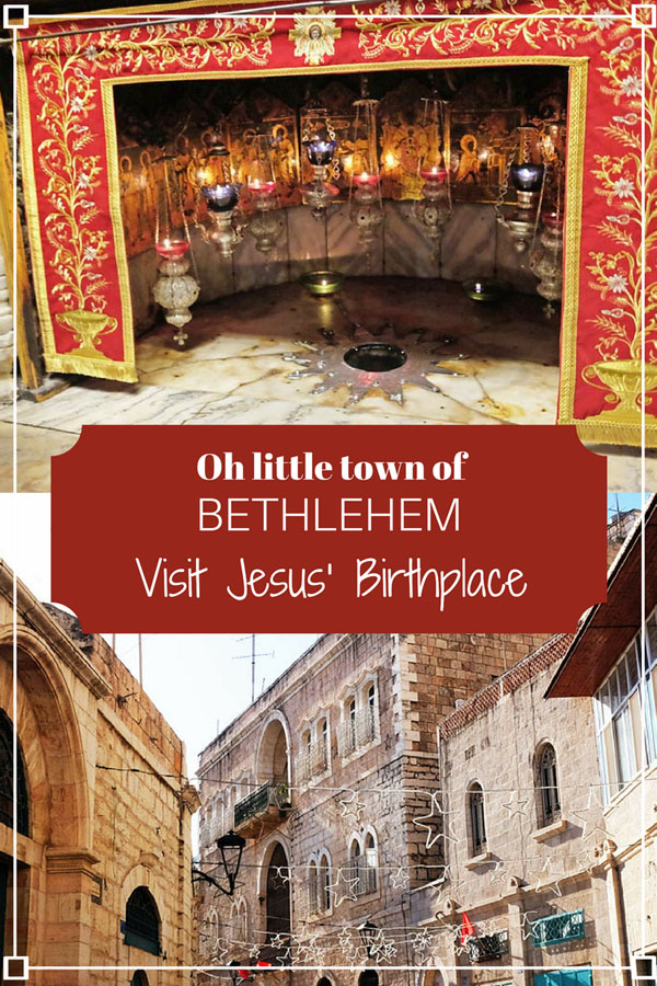 Oh little town of Bethlehem - discover Jesus' Birthplace