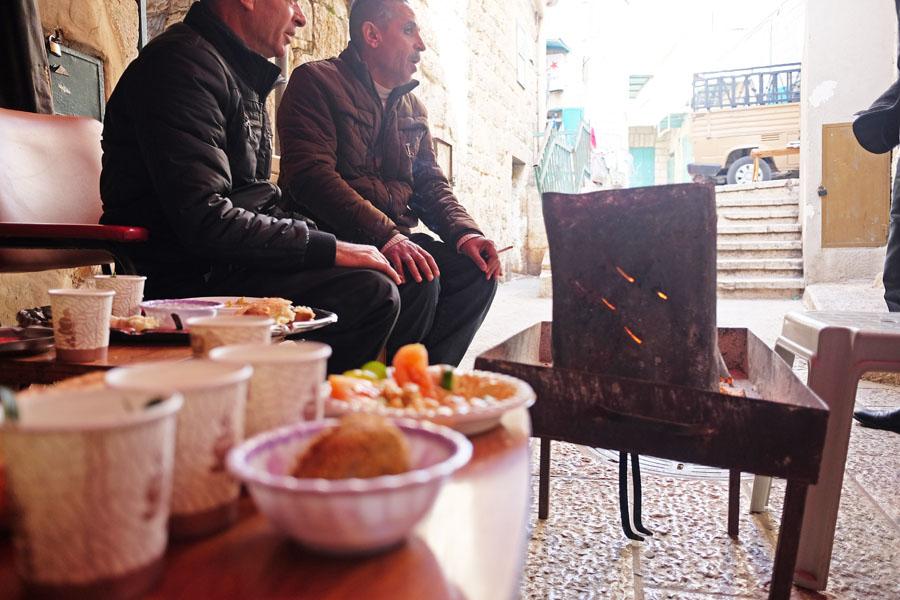 Lunchtime in Bethlehem
