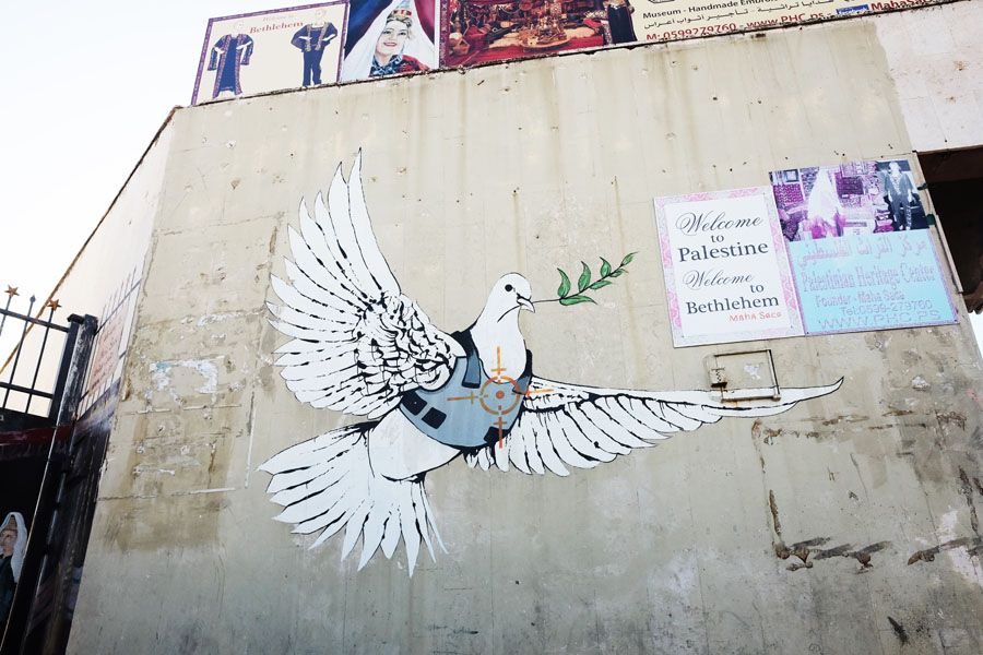 Banksy Graffiti in Bethlehem