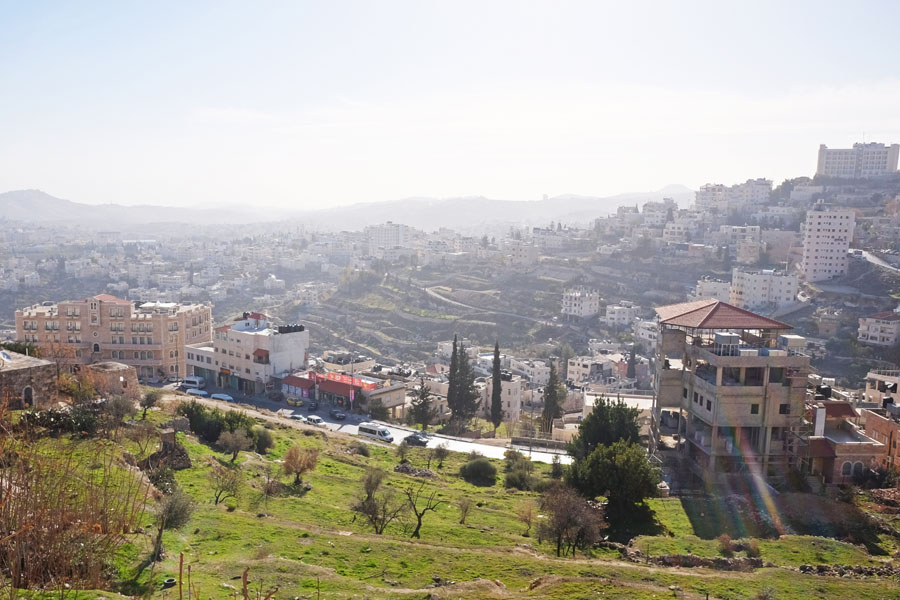 View over Bethlehem