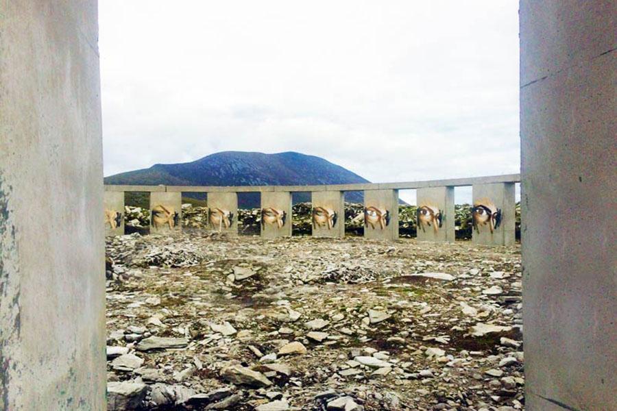 Achill Henge on Achill Island
