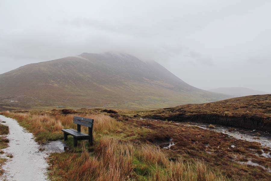 Hiking on Achill Island.