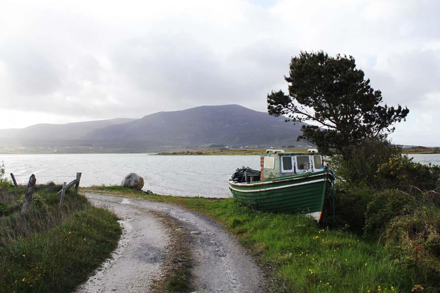 The shore of Achill Island.