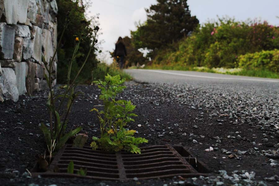 The roads of Achill Island.