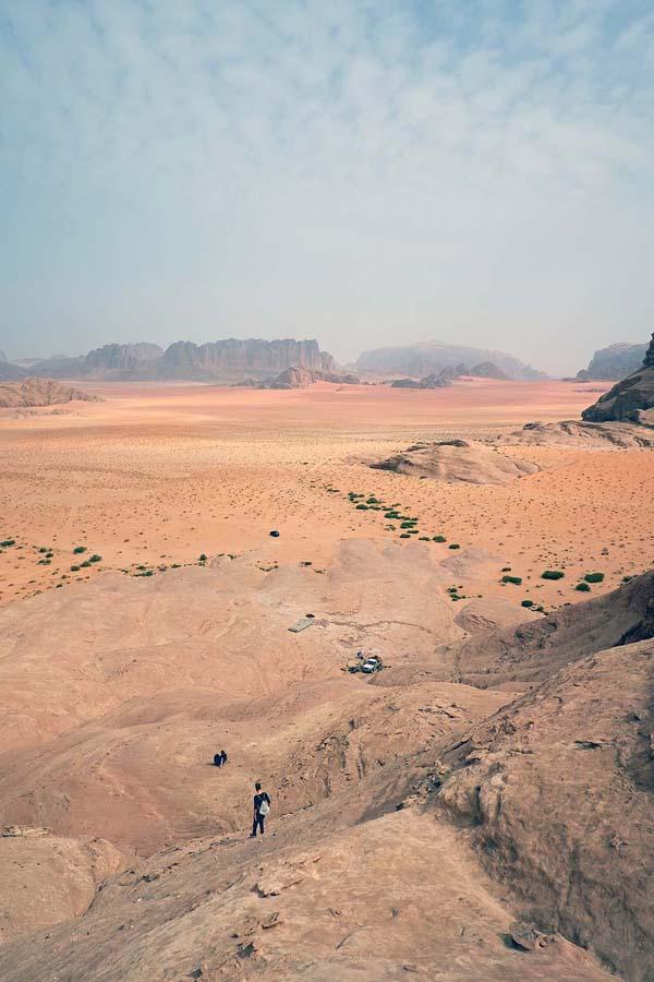 Landscape of Wadi RUm