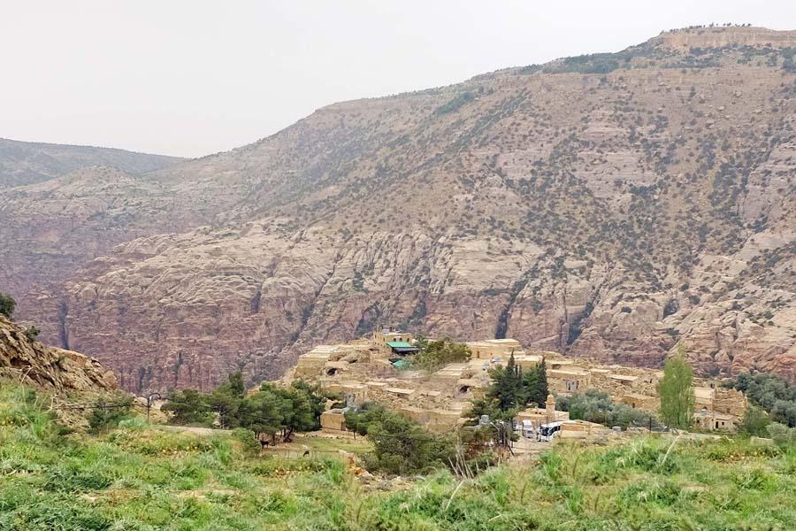 Historical Town of Dana, Jordan