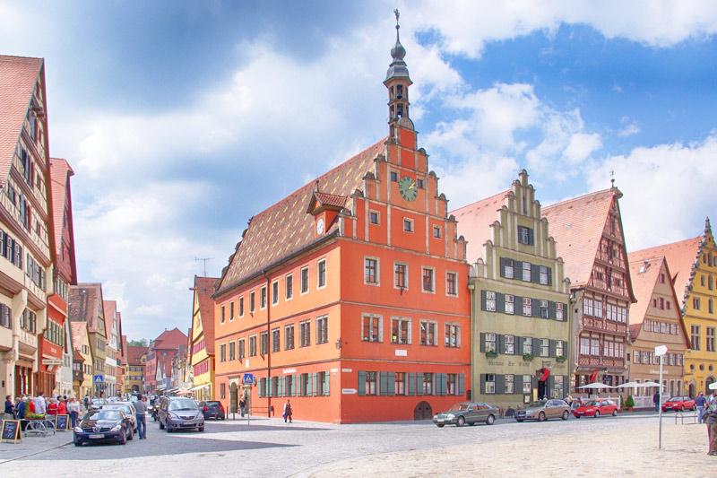 The cute town of Dinkelsbühl