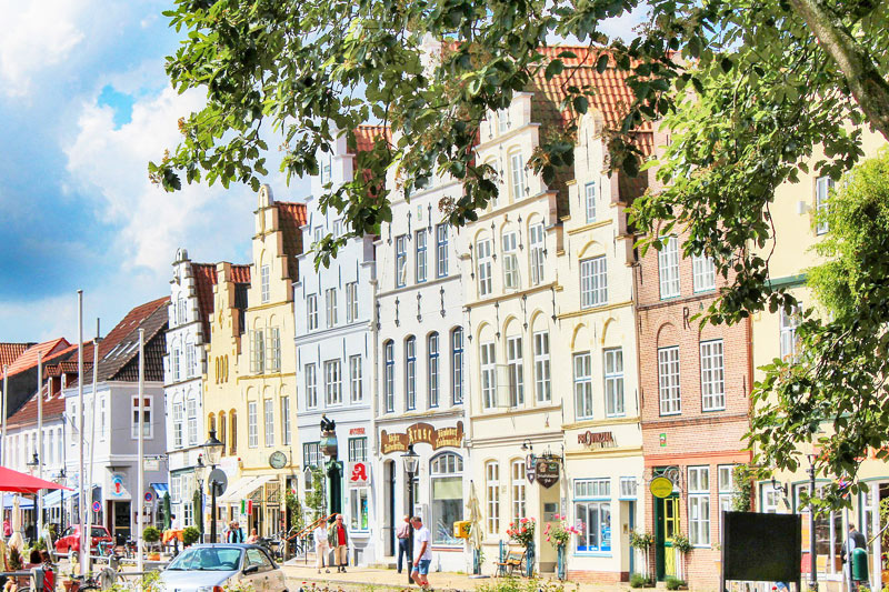 The cute town of Friedrichstadt