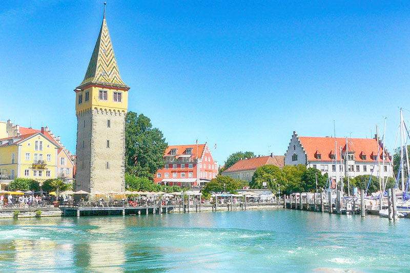 The cute city of Lindau