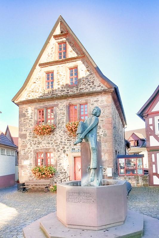 The Market Square of Lauterbach