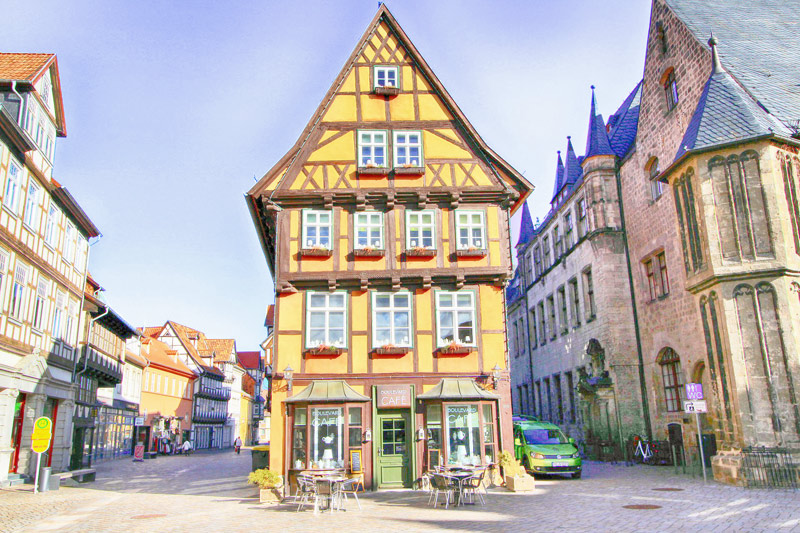 The cute town of Quedlinburg