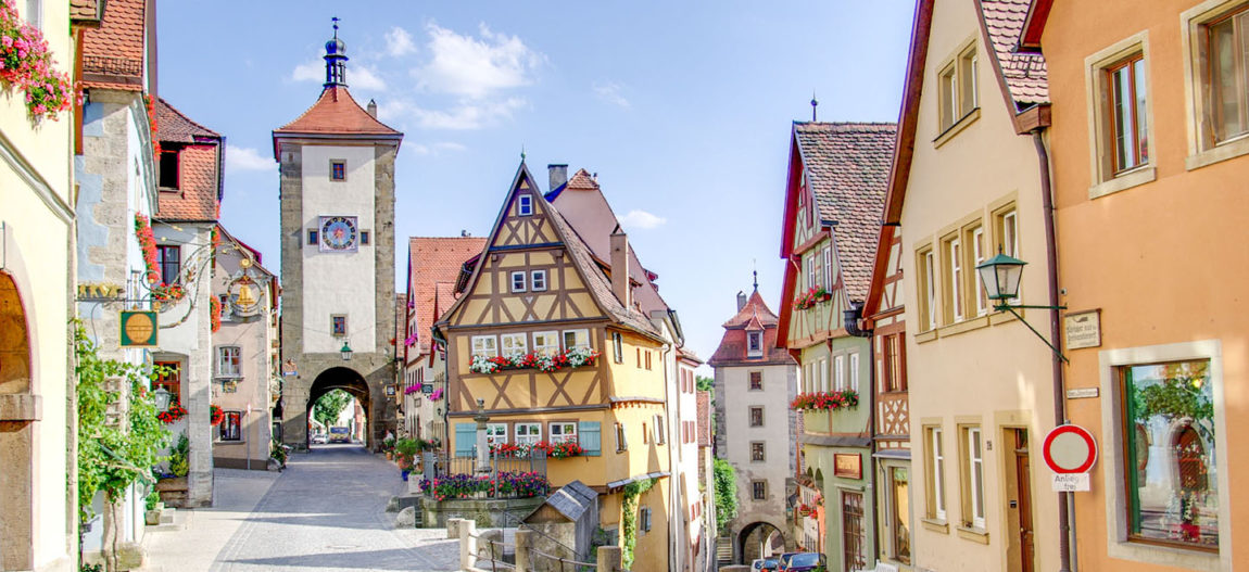 Get your summer beer in one of these cute German towns!