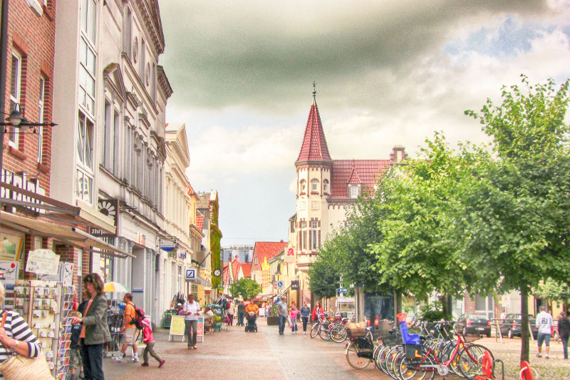 The cute town of Jever