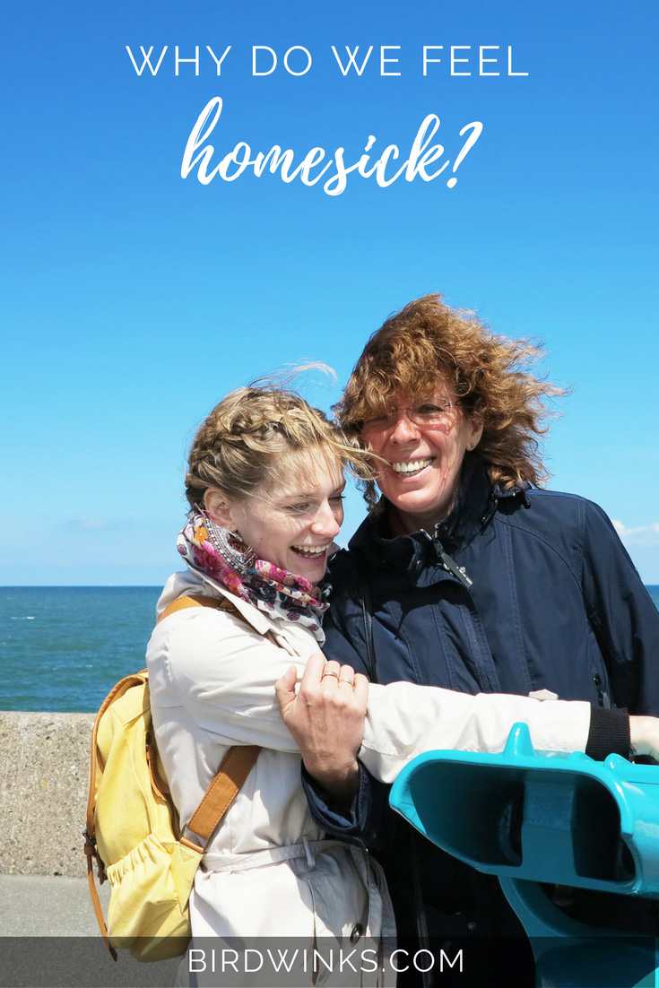 What is homesickness? Why do some people feel homesick, while others don't? And what can I do about homesickness?