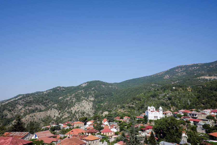 Cyprus and its cute remote villages carved into the mountainsides.