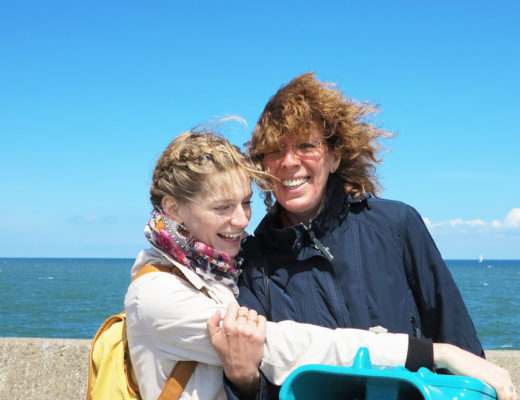 I with my mum, the only person in the world who knows to cure all of my homesickness!