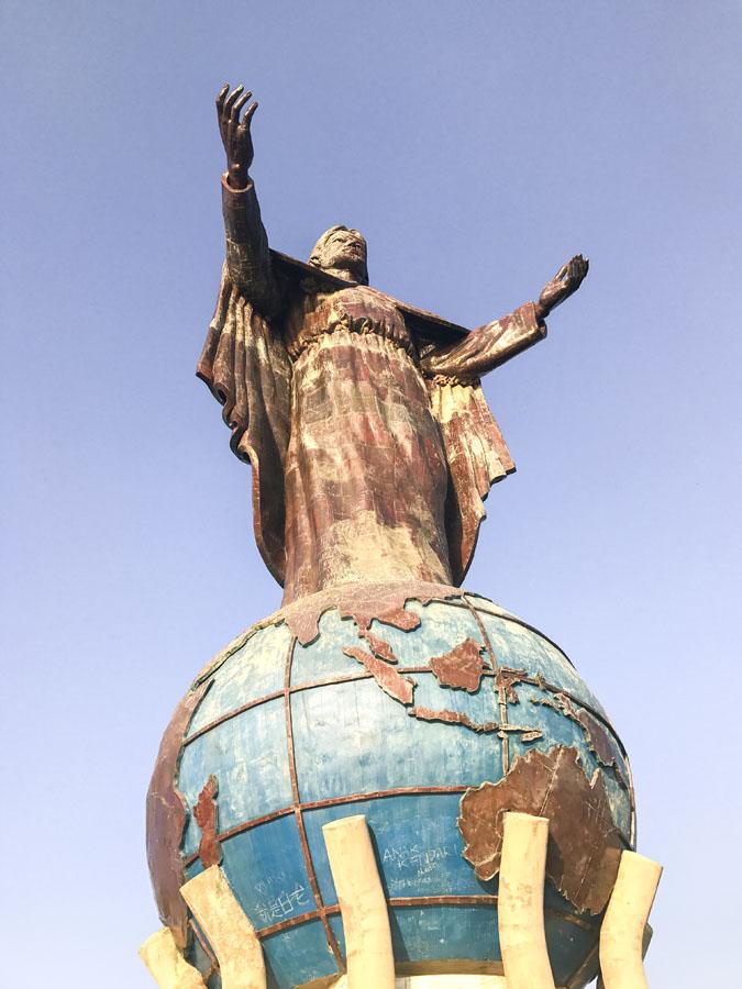 Visit the Cristo Rei statue in Dili, Timor-Leste
